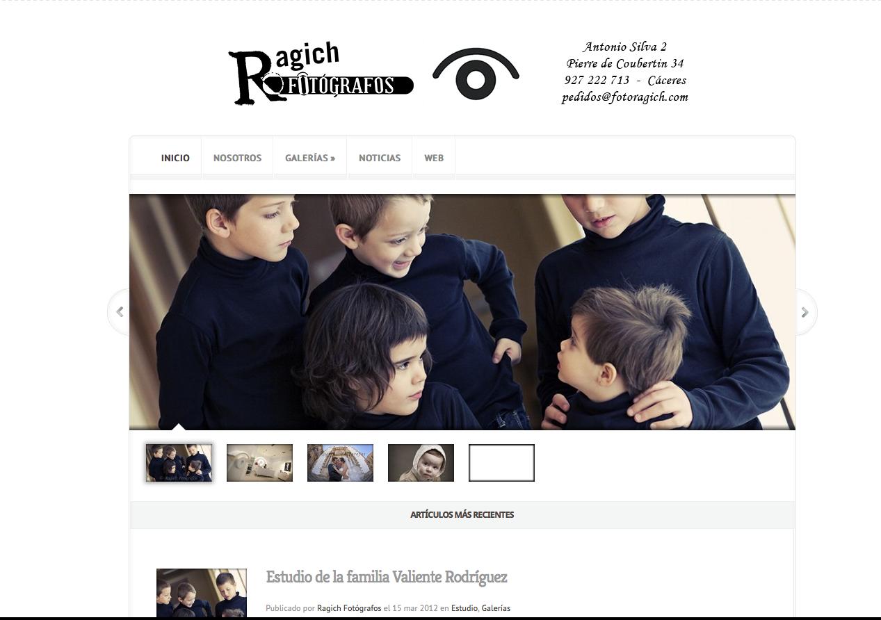 Blog de Ragich Fotógrafos