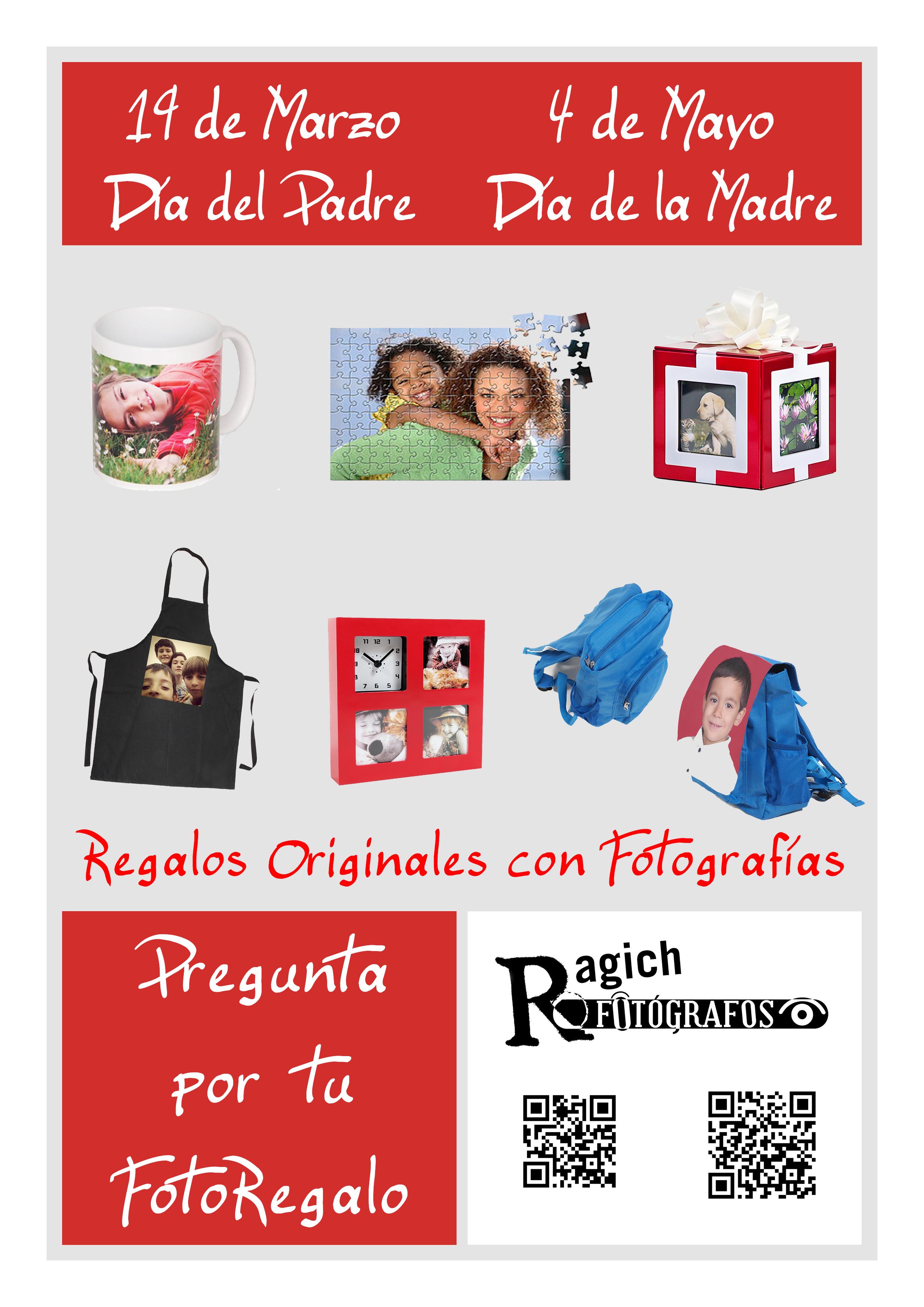 Foto regalos en Ragich Fotógrafos - Cáceres